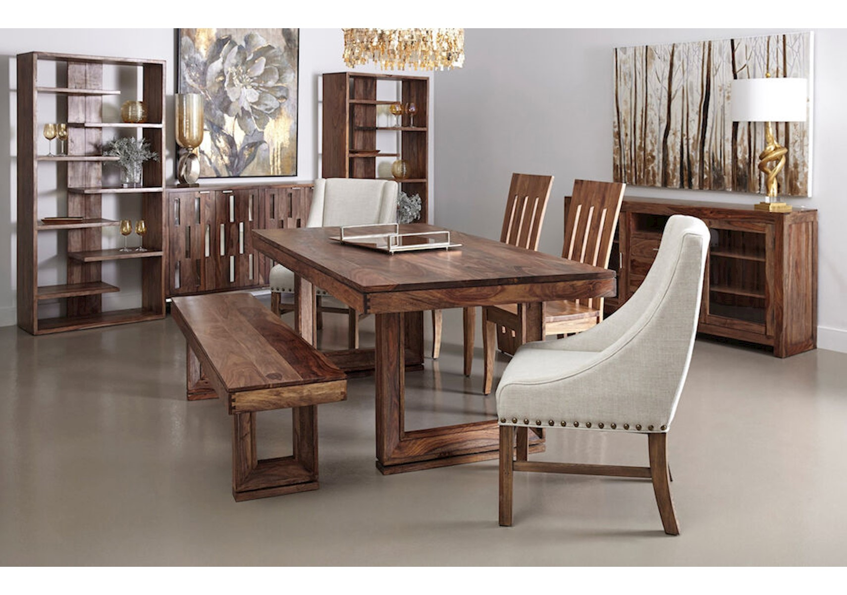 Lacks Brownstone 6 Pc Dining Room Set, 6 Piece Dining Room Set
