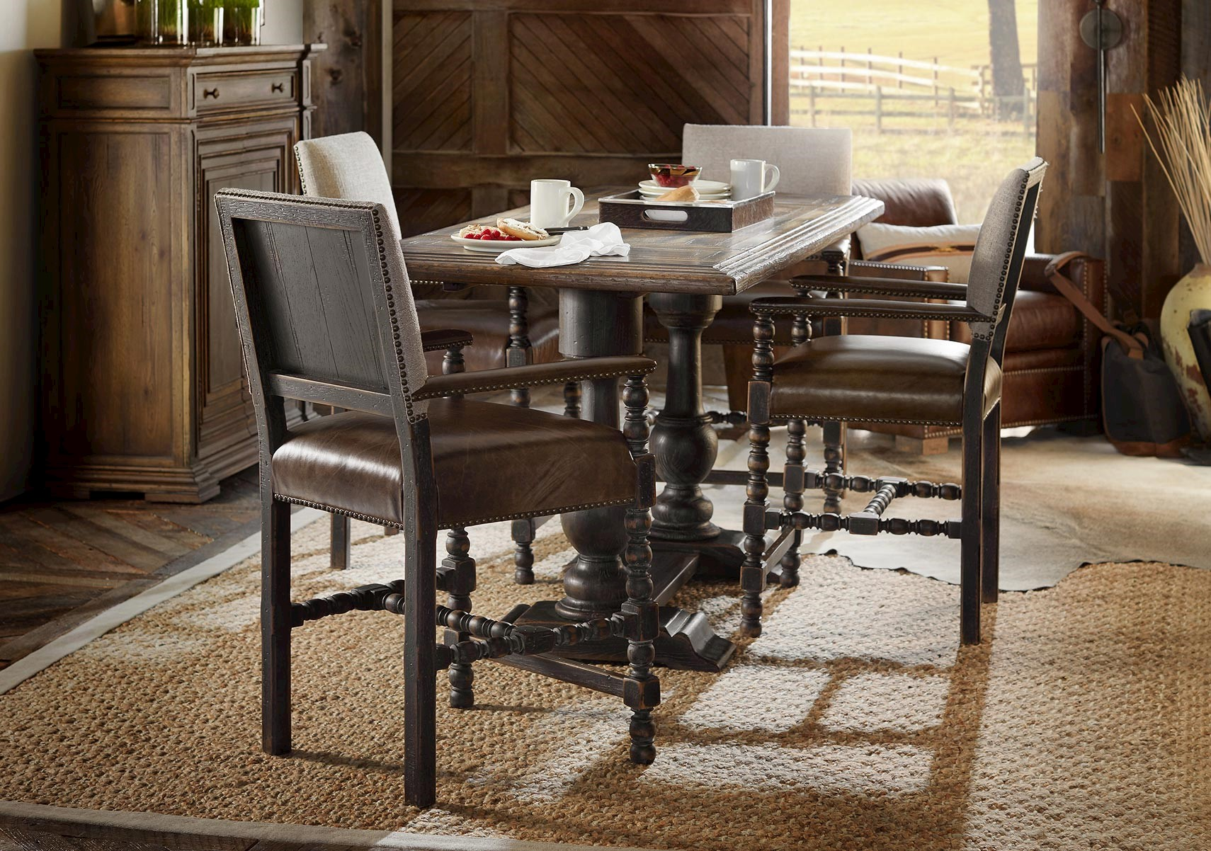 Hill Country 7 Pc Counter Height Dining Set, Hill Country Dining Room Furniture