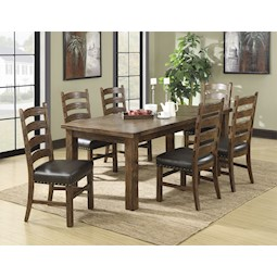 Chambers Creek 7-Pc Dining Set  sc 1 st  Lacks : dinner tables sets - pezcame.com
