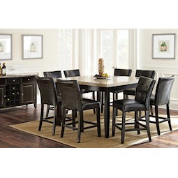 Monarch 7 Pc Counter Height Dining Set