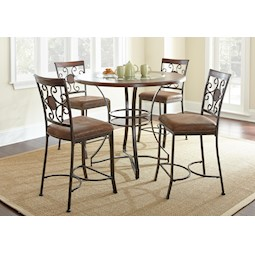 Turner 5 Pc Counter Height Dining Set