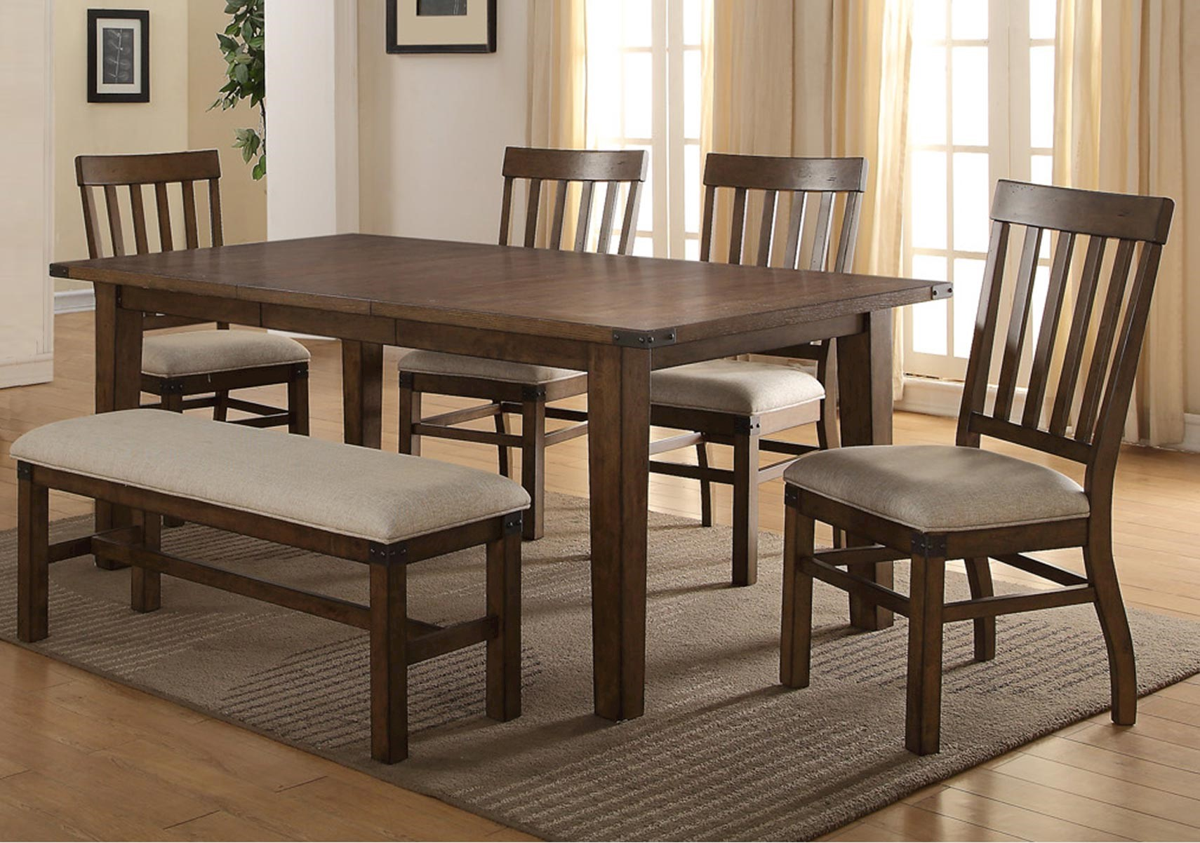 Hailee 6 Pc Dining Set
