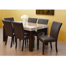 Granada 7 Pc Dining Set