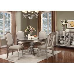 Regency Park 5 Pc Dining Room Set Plus FREE Lazy Susan