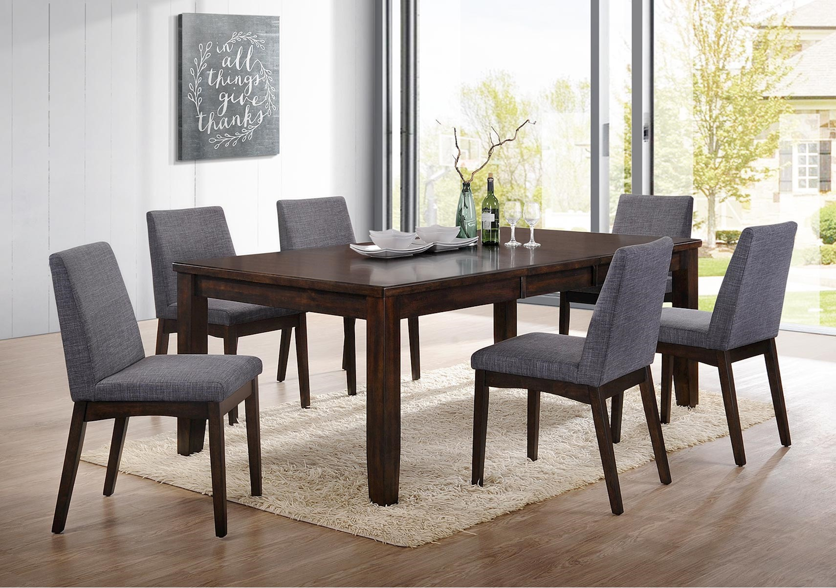 Lacks dining room sets piper 7 pc dining set dzzzfo