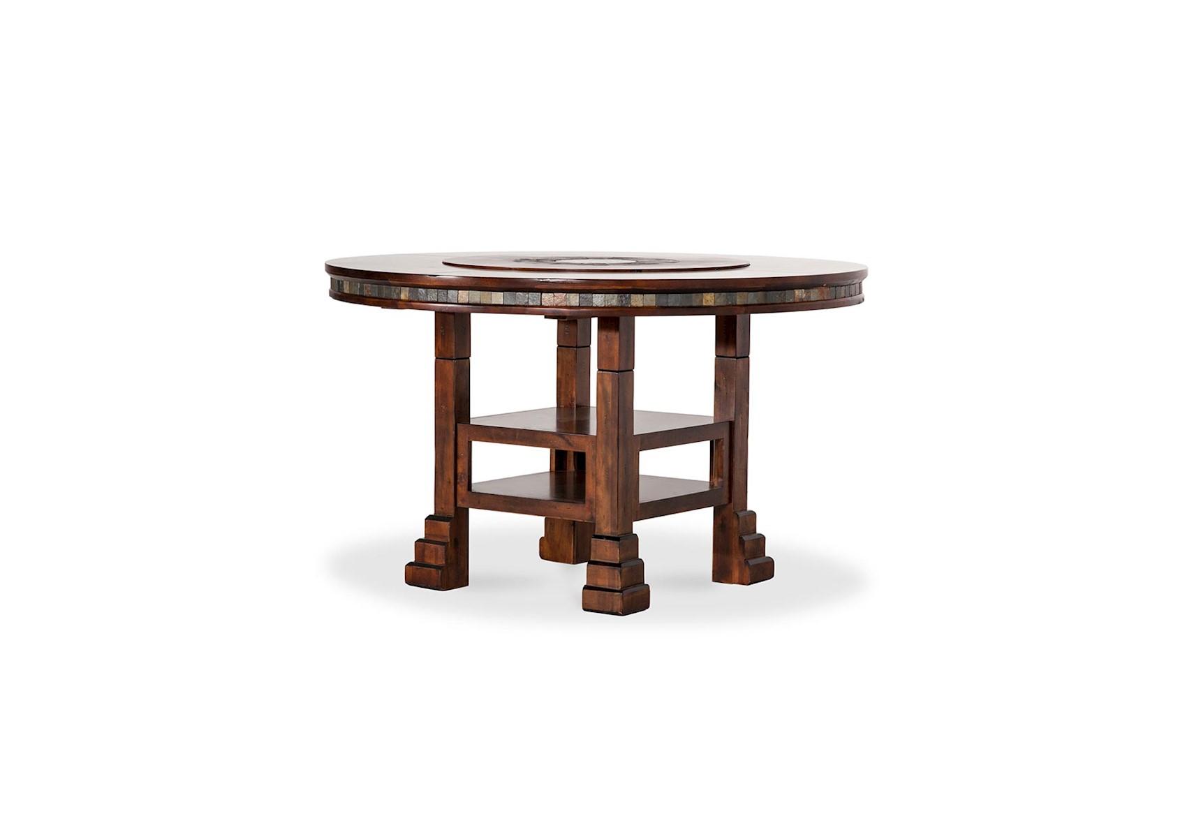 Lacks | Santa Fe Adjustable Height Round Table