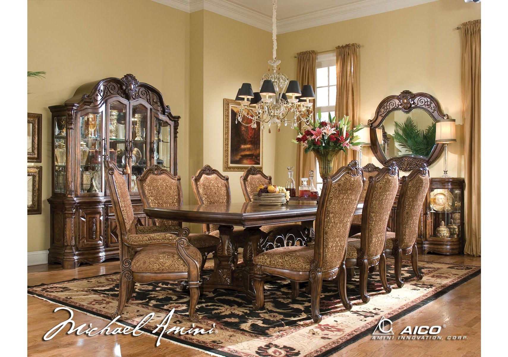Merveilleux Windsor Court 10 Pc Dining Roomful