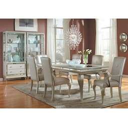 Hollywood Loft 7 Pc Dining Set