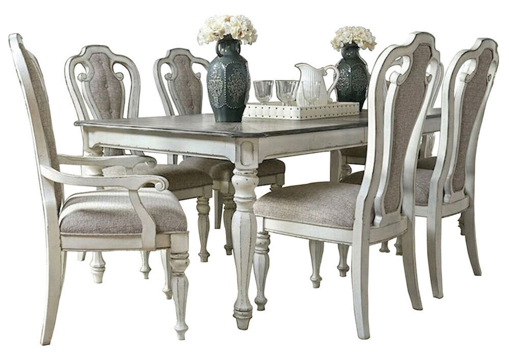 Magnolia Manor 7 Pc Dining Room Set