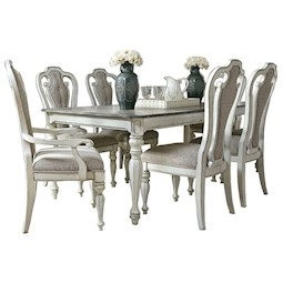 magnolia manor 7pc dining room set