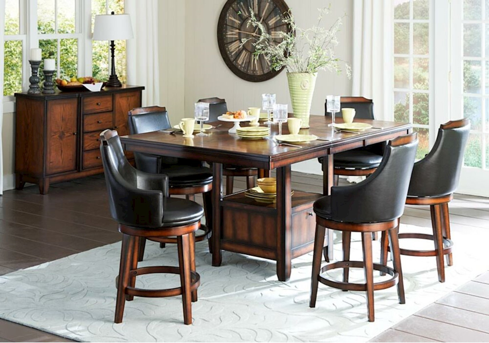 Bayshore 7 Pc Counter Height Dining Set