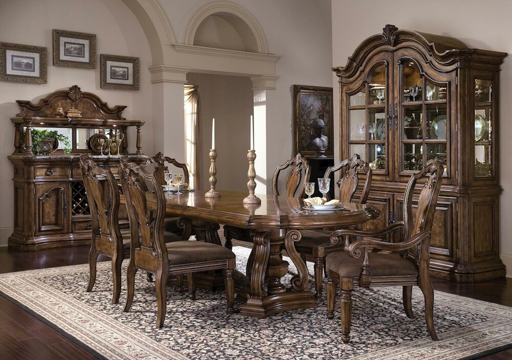 San Mateo 9 Pc Dining Set