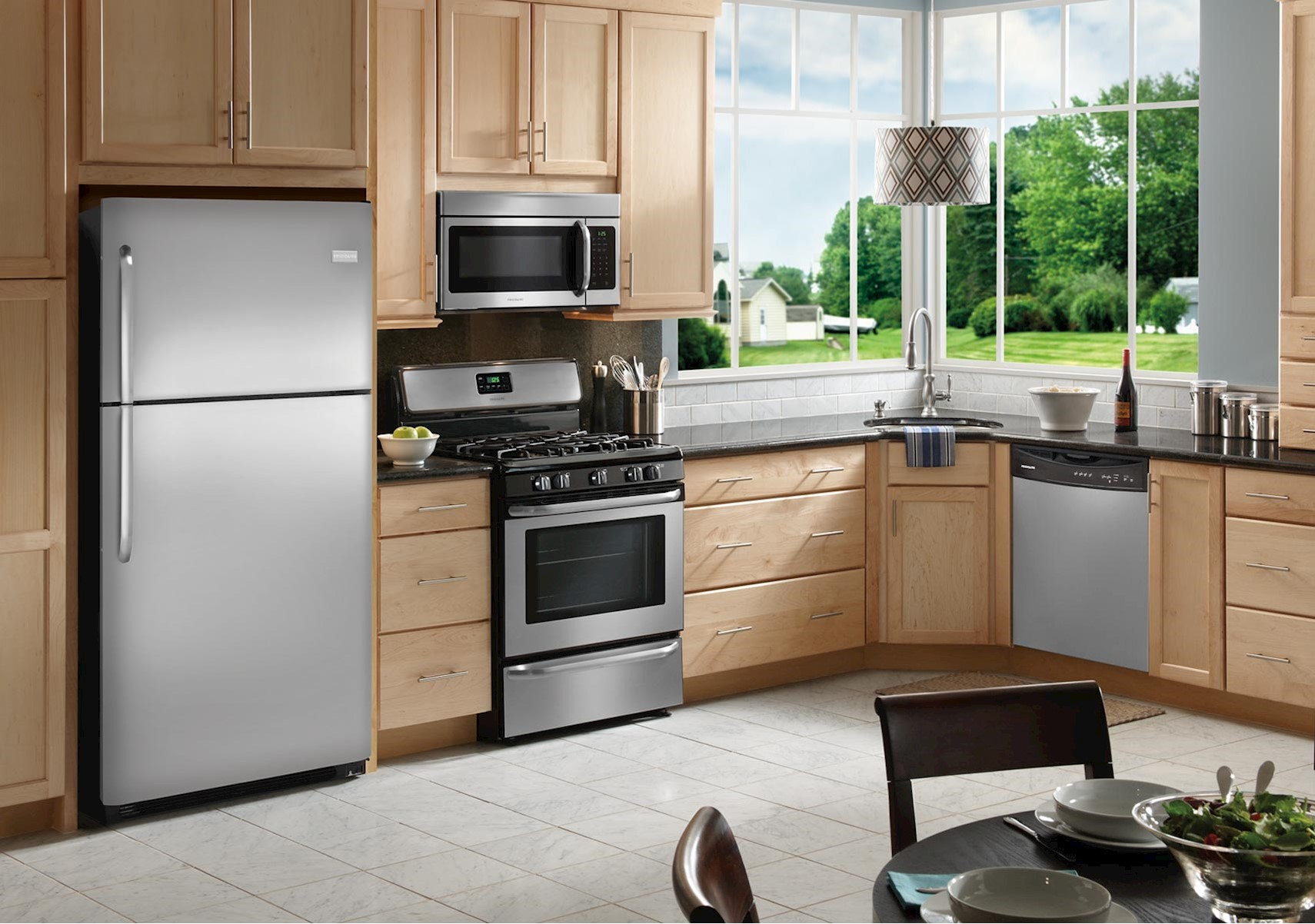 Uncategorized Frigidaire Kitchen Appliances lacks frigidaire stainless steel kitchen appliance package with gas stove