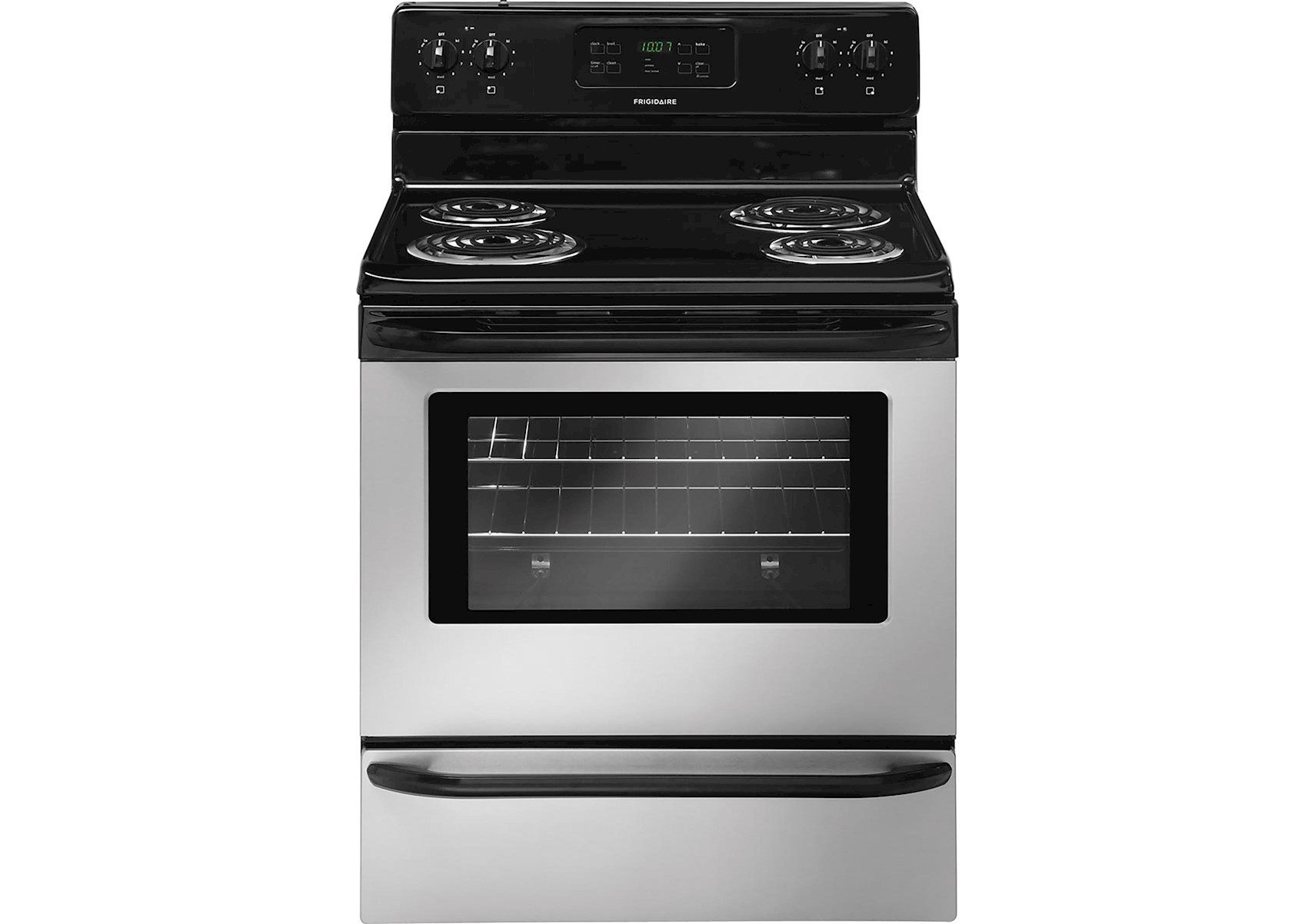 Frigidaire 30 Stainless Steel Electric Coil Top Range