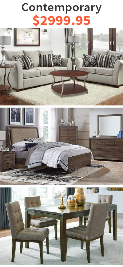 Metropolitan Living Room Package