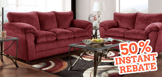 Save Over $600 On The 2 Pc. Berin Living Room Set