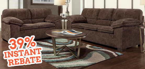 Bon Save Over $400 On The Renegade 2 Pc. Living Room Set